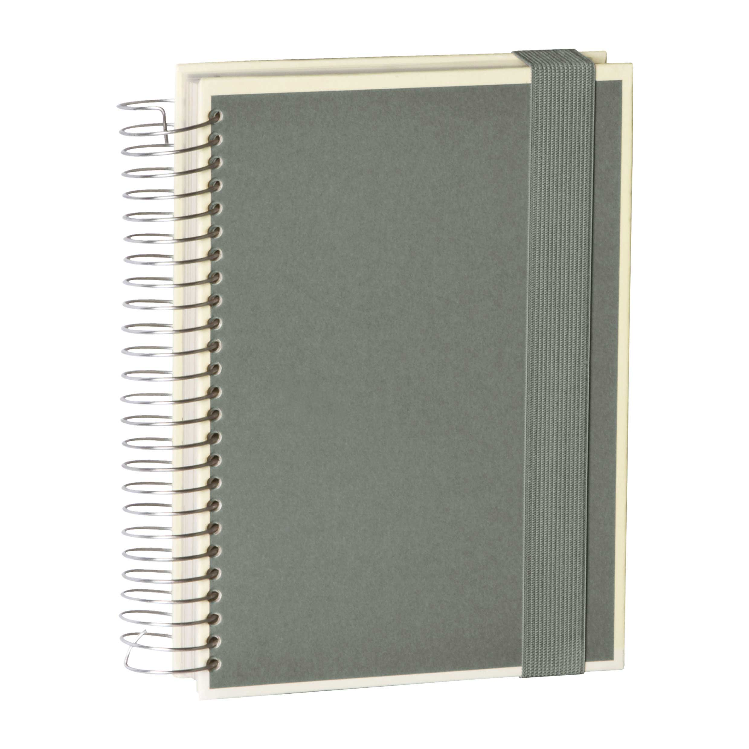 Semikolon Mucho A5 Spiral Notebook Gray