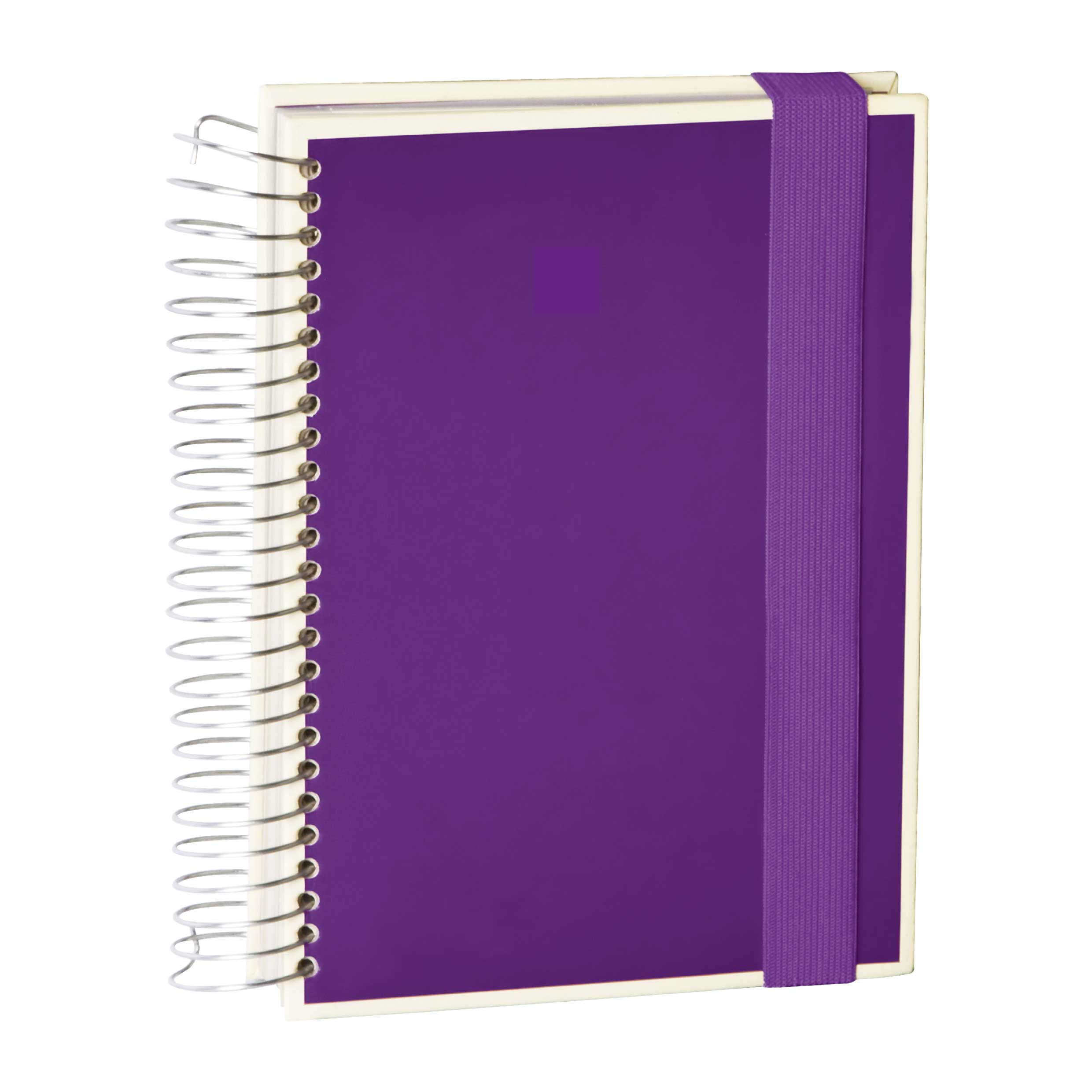 Semikolon Mucho A5 Spiral Notebook Plum