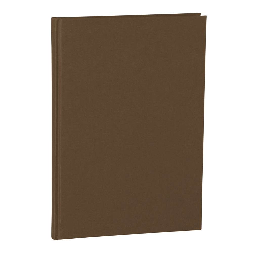 Semikolon Notebook Classic A4 Plain Brown