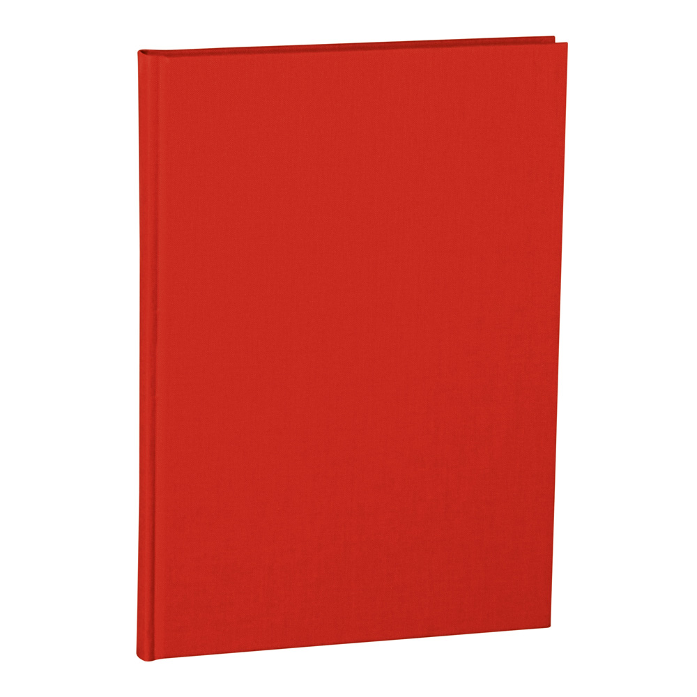 Semikolon Notebook Classic A4 Ruled Red