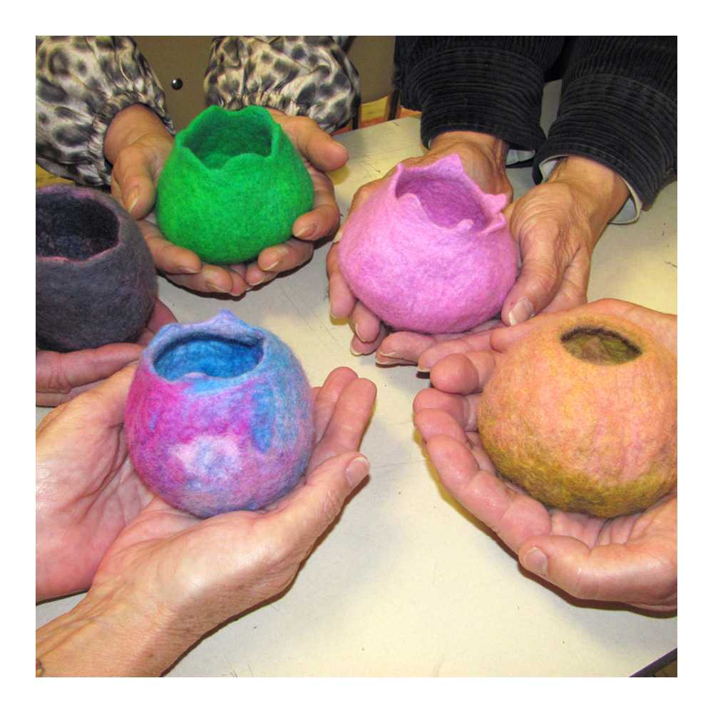 Makers 1 Day Wkshp: Intro to Wet Felting
