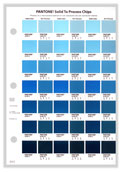 Pantone Solid to Process Chip Pages