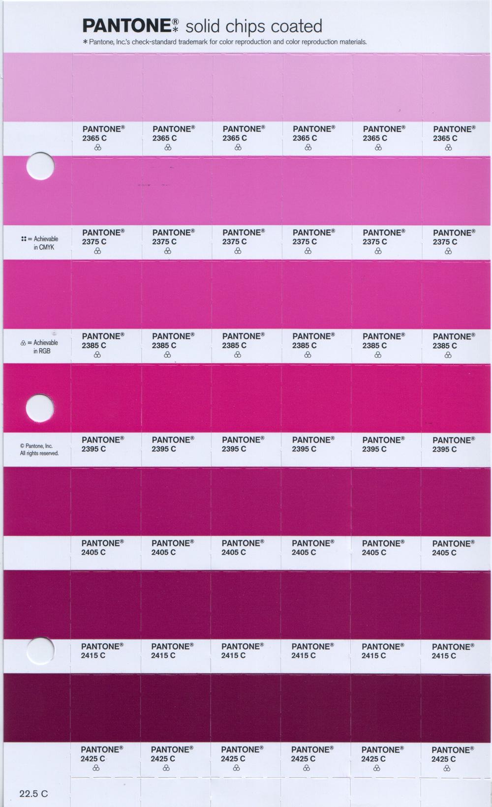 Buy pantone replacement page pages pantone page pantone for Pantone paint colors