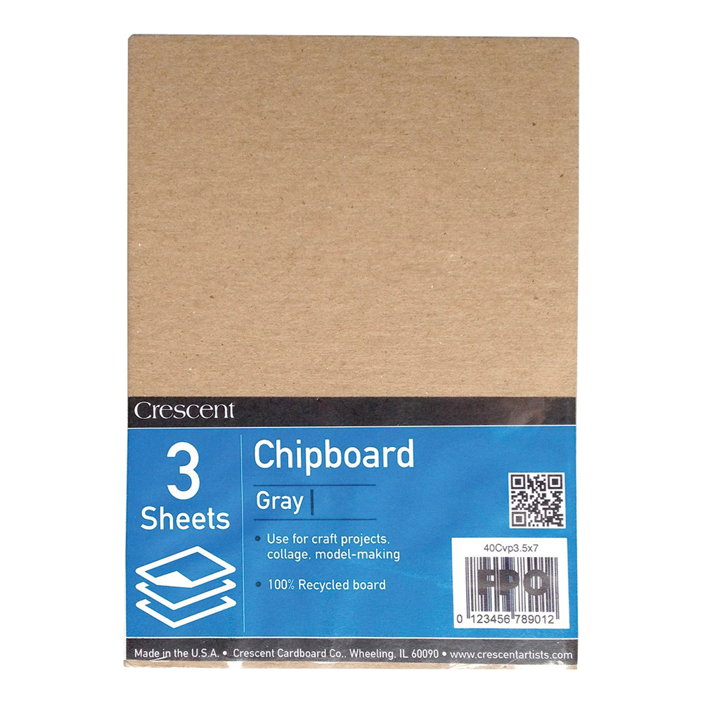 Crescent 3/Pack 11X14 Chipboard