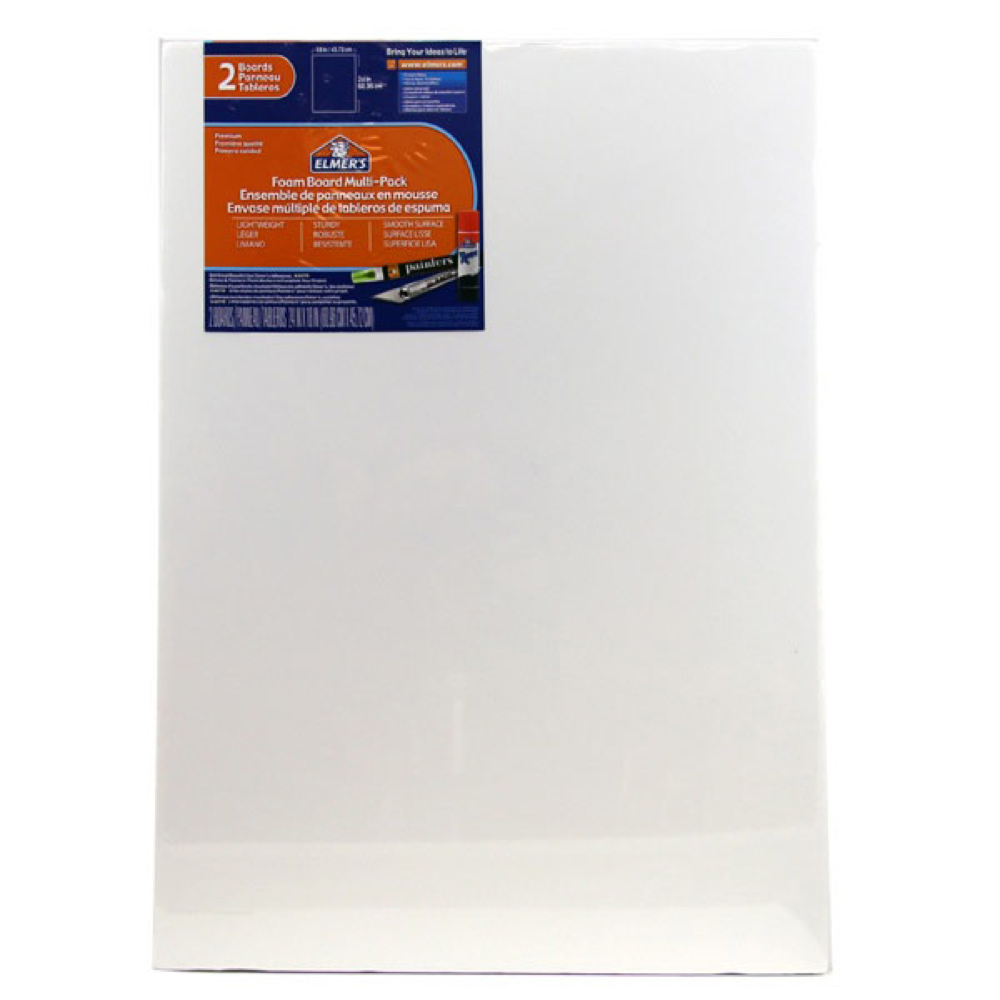 Foamboard 18X24X3/16 Pack Of 2