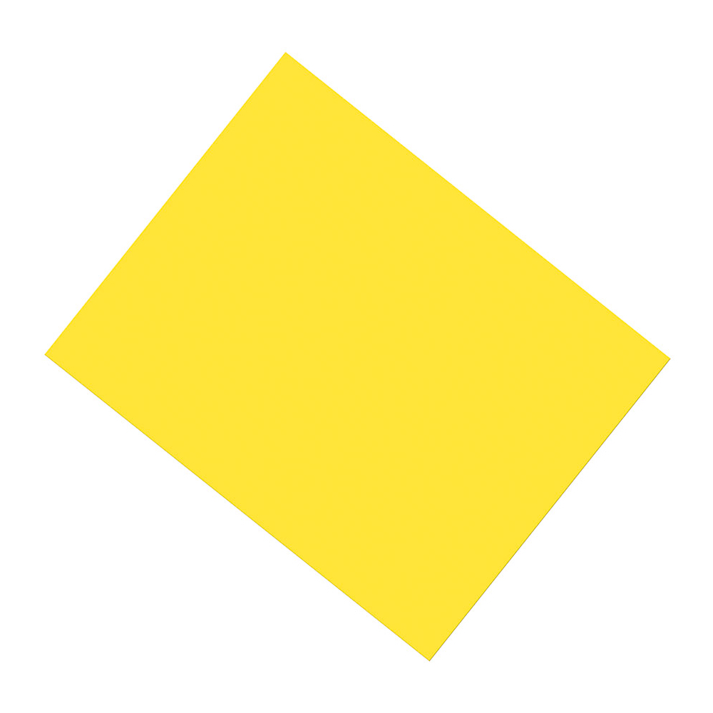 Premium Poster Board Yellow 22X28