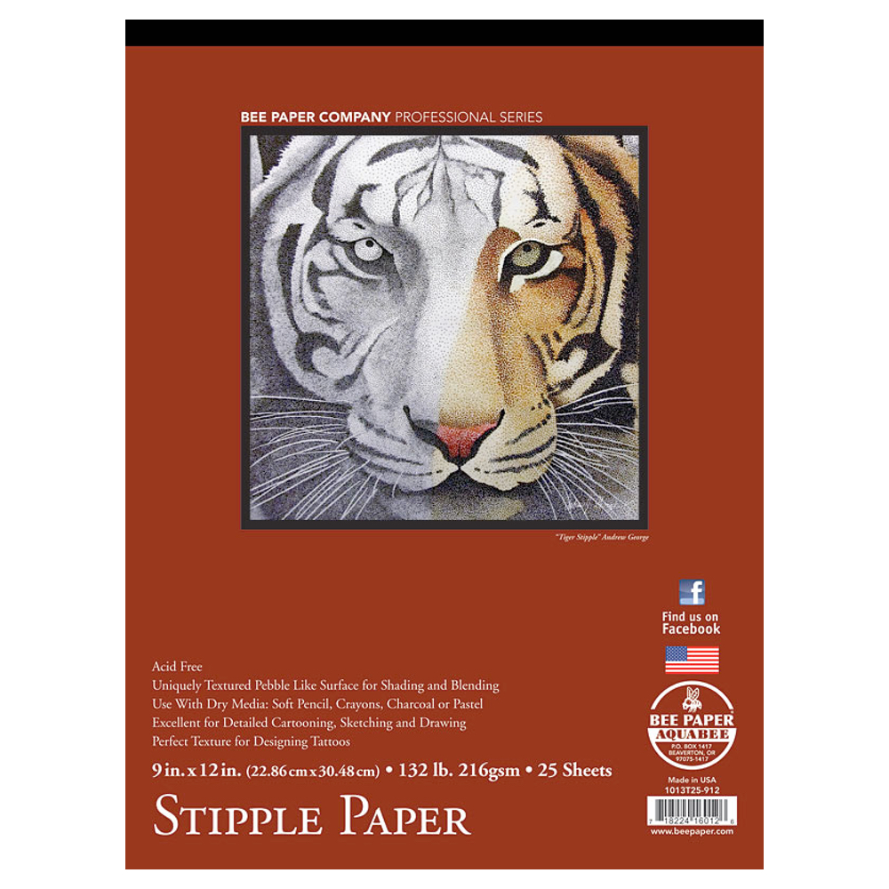Coquille Paper Fine Stipple Pad 9X12