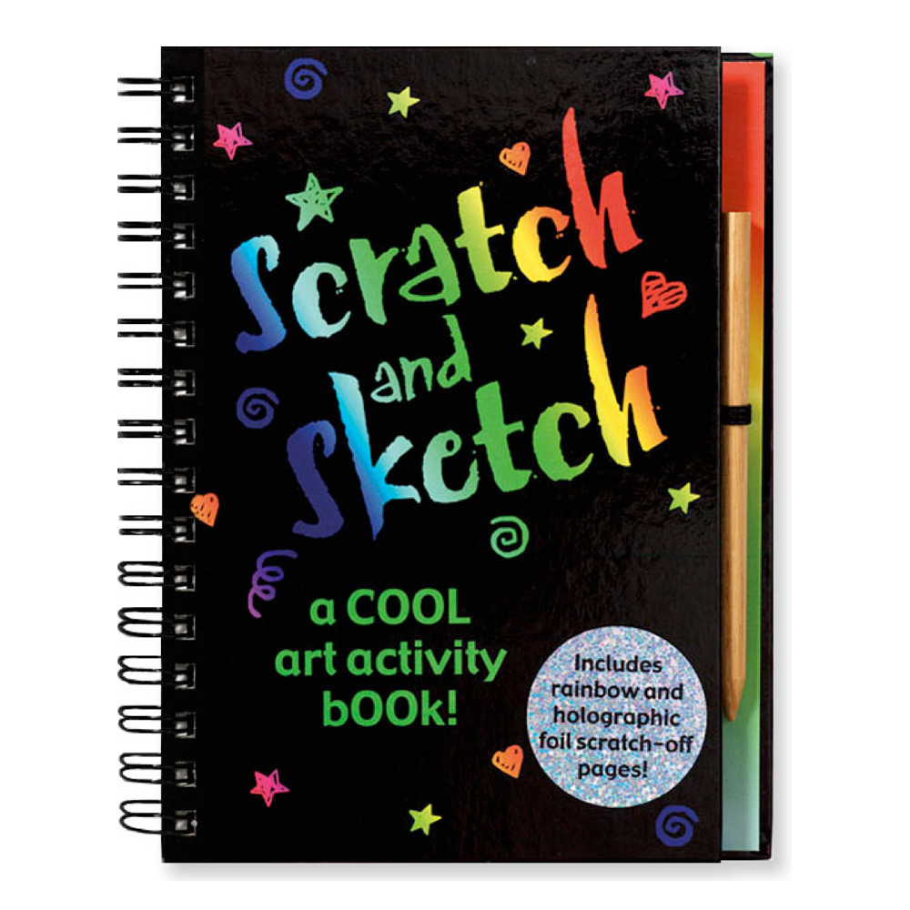 Cool Art Scratch & Sketch Book