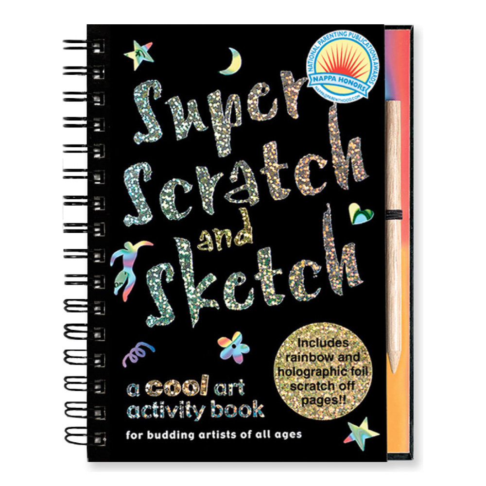 Super Scratch & Sketch Book