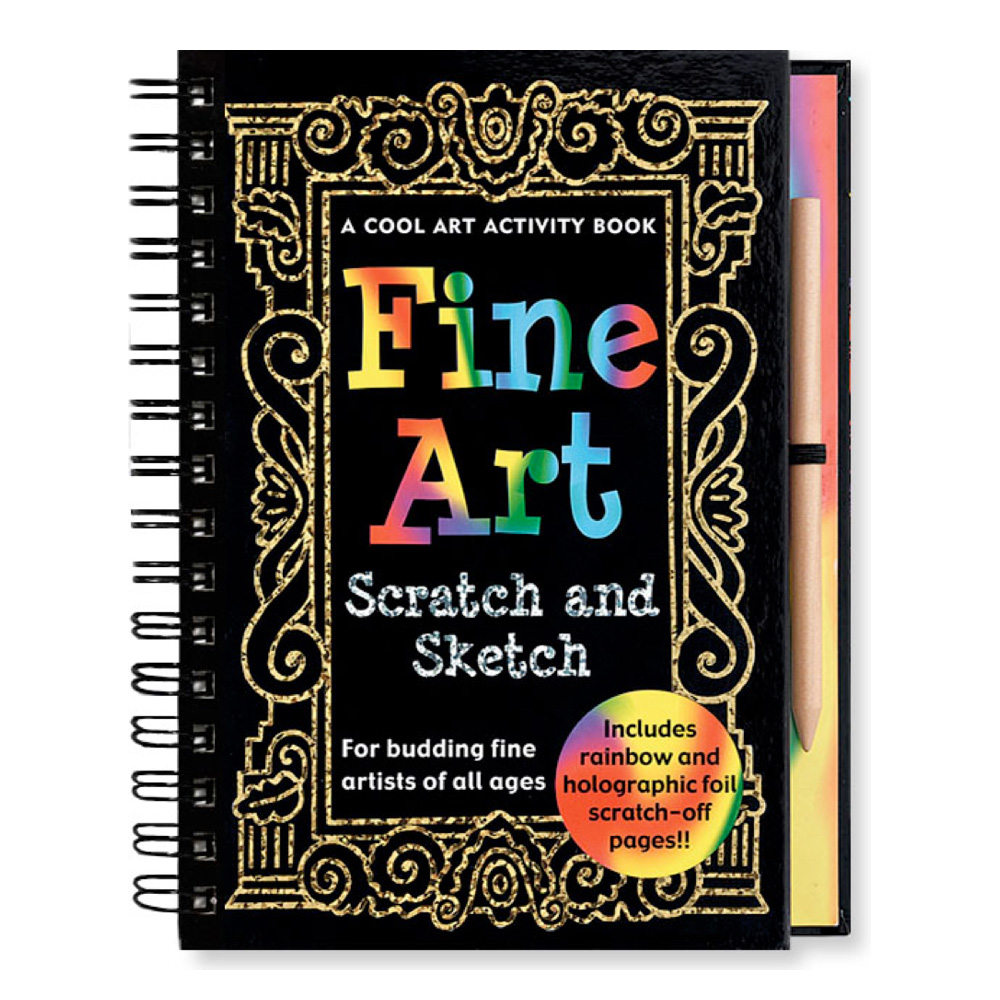 Fine Art Scratch & Sketch Book