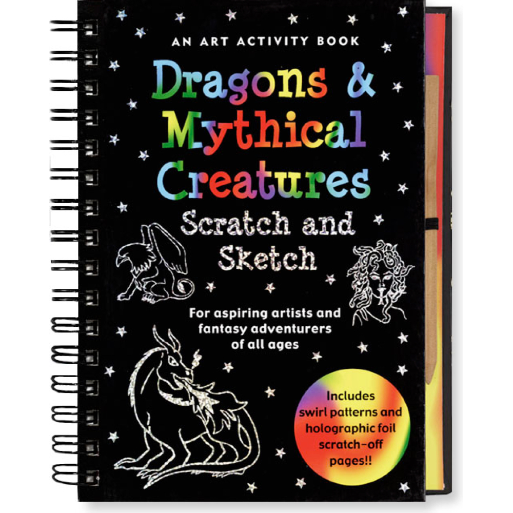 Dragons & Mythical Creatures Scratch & Sketch