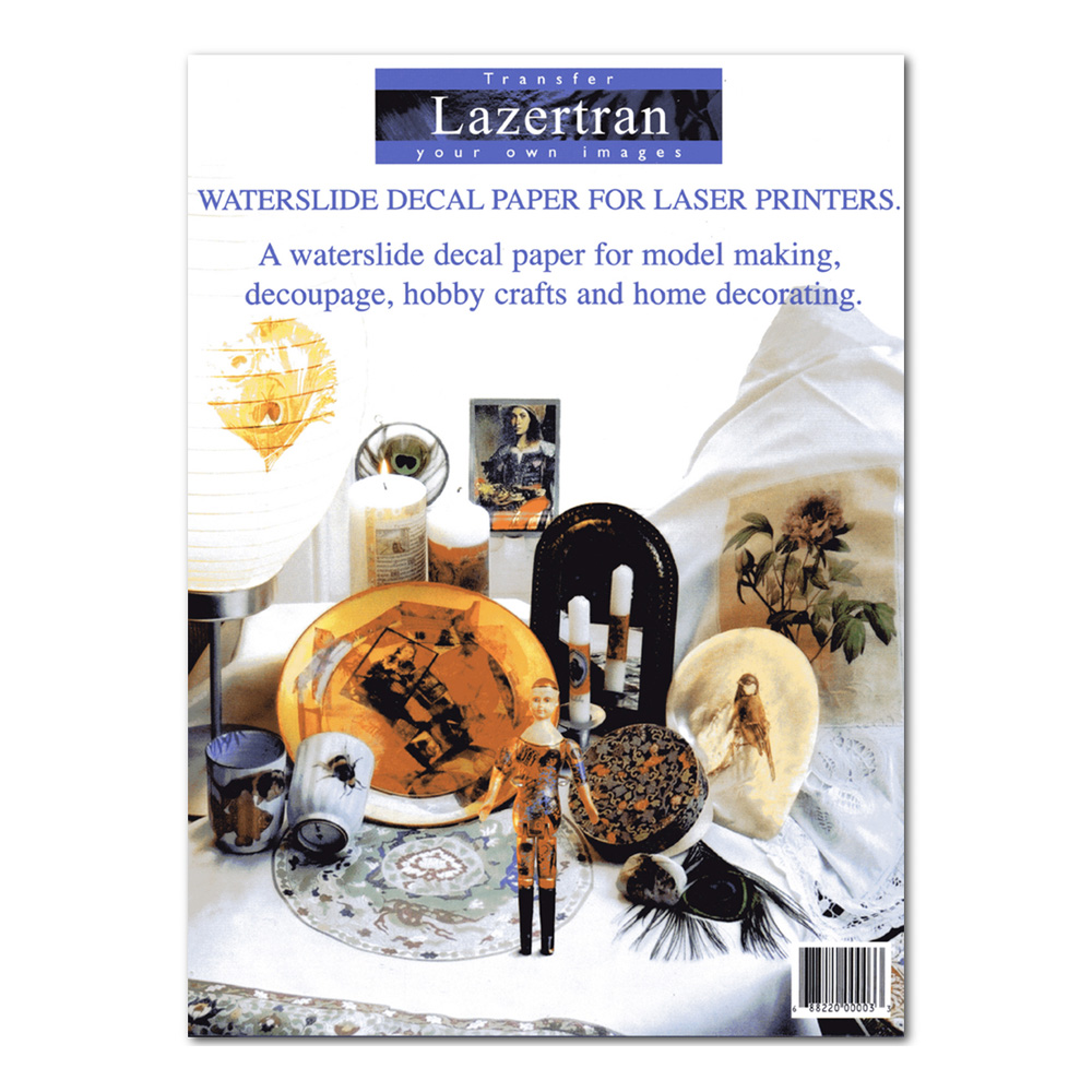 Lazertran Decal Transfer Paper 10Pk 8.5X11