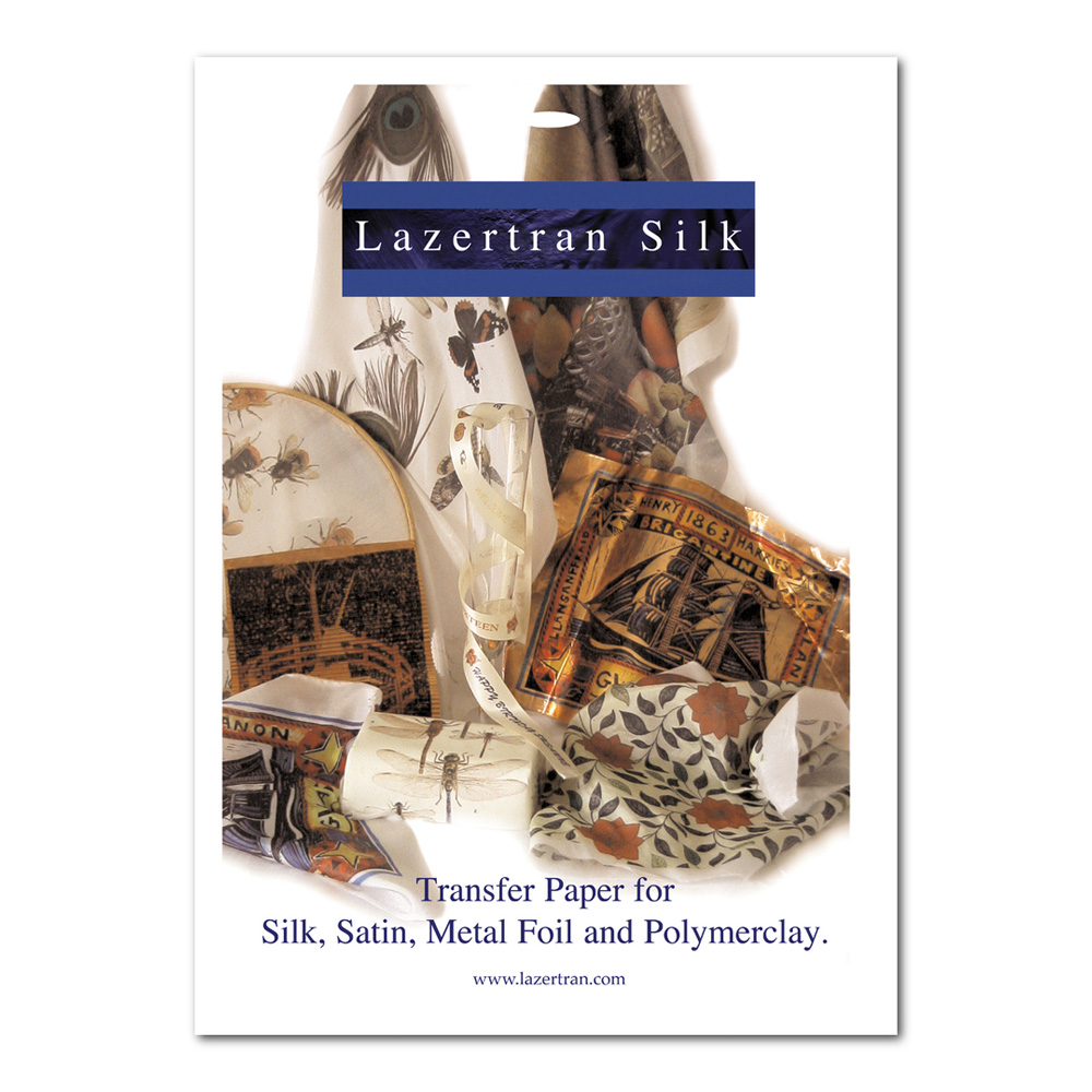 Lazertran Silk Transfer Sheets 10Pk 8.5X11