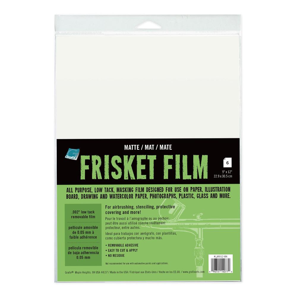 "Roll Clear 24/"" x 4 yd Grafix All-Purpose Clear Gloss Frisket Film Rolls"