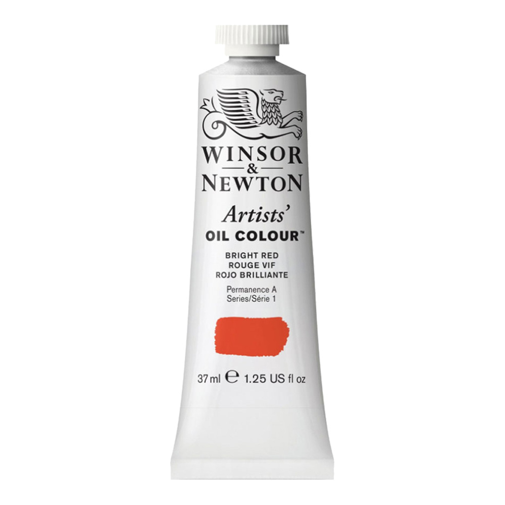 W&N Artist Oil 37Ml Bright Red