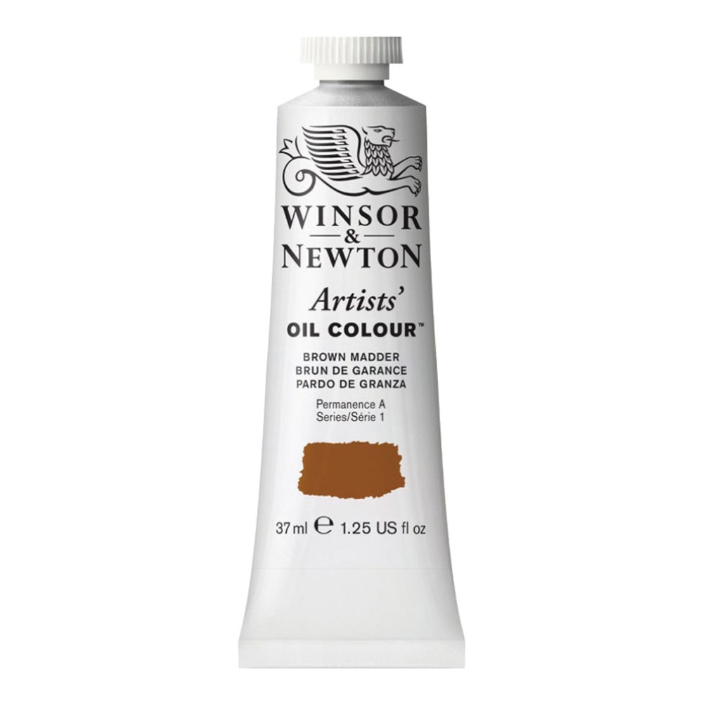 W&N Artist Oil 37Ml Brown Madder