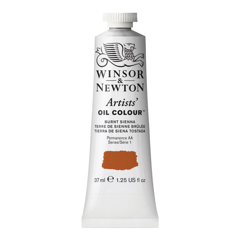 W&N Artist Oil 37Ml Burnt Sienna