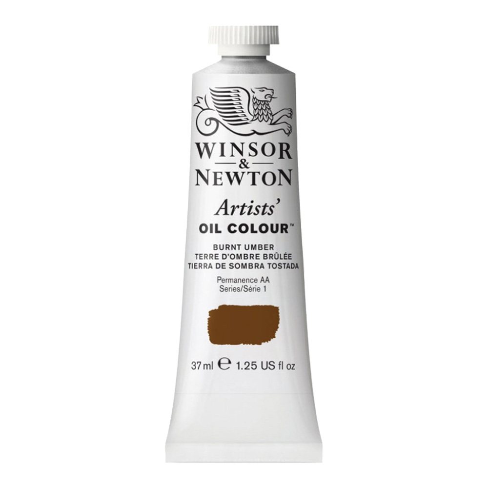 W&N Artist Oil 37Ml Burnt Umber
