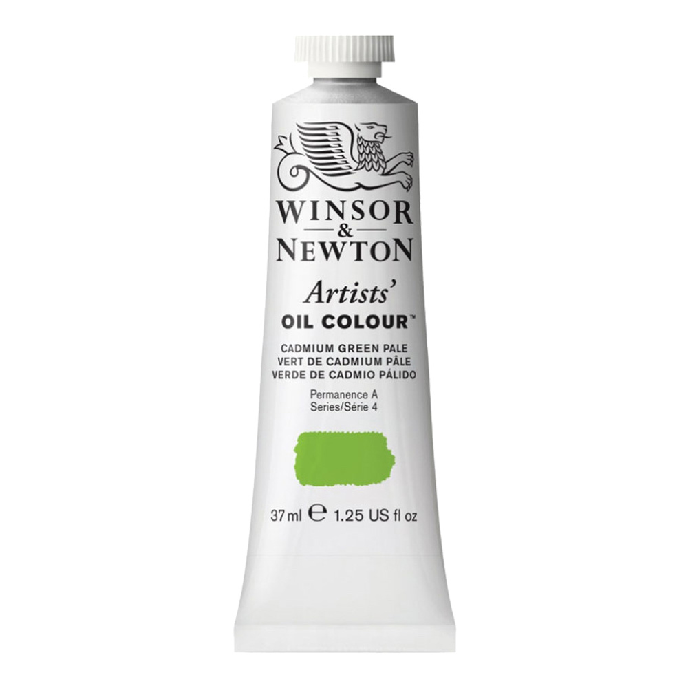 W&N Artist Oil 37Ml Cadmium Green Pale