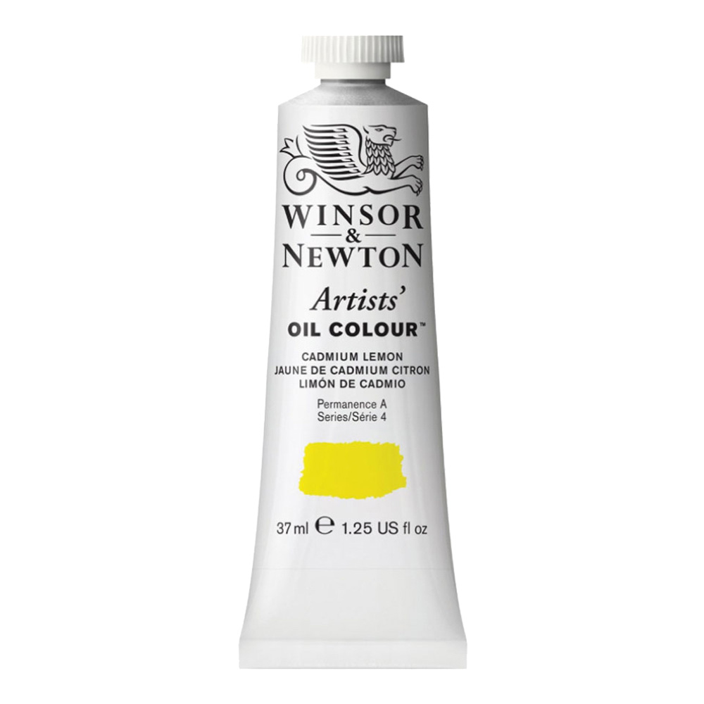 W&N Artist Oil 37Ml Cadmium Lemon