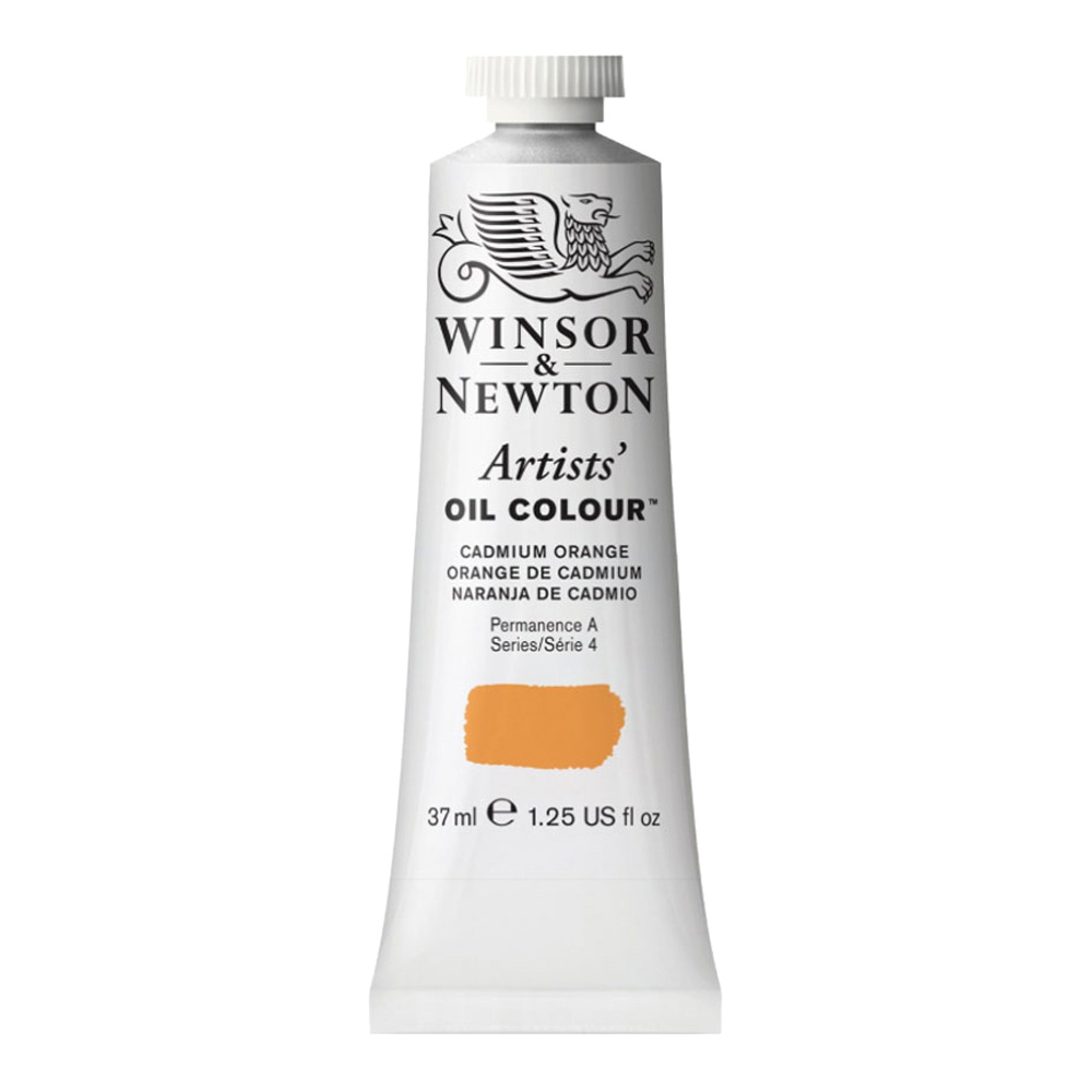 W&N Artist Oil 37Ml Cadmium Orange