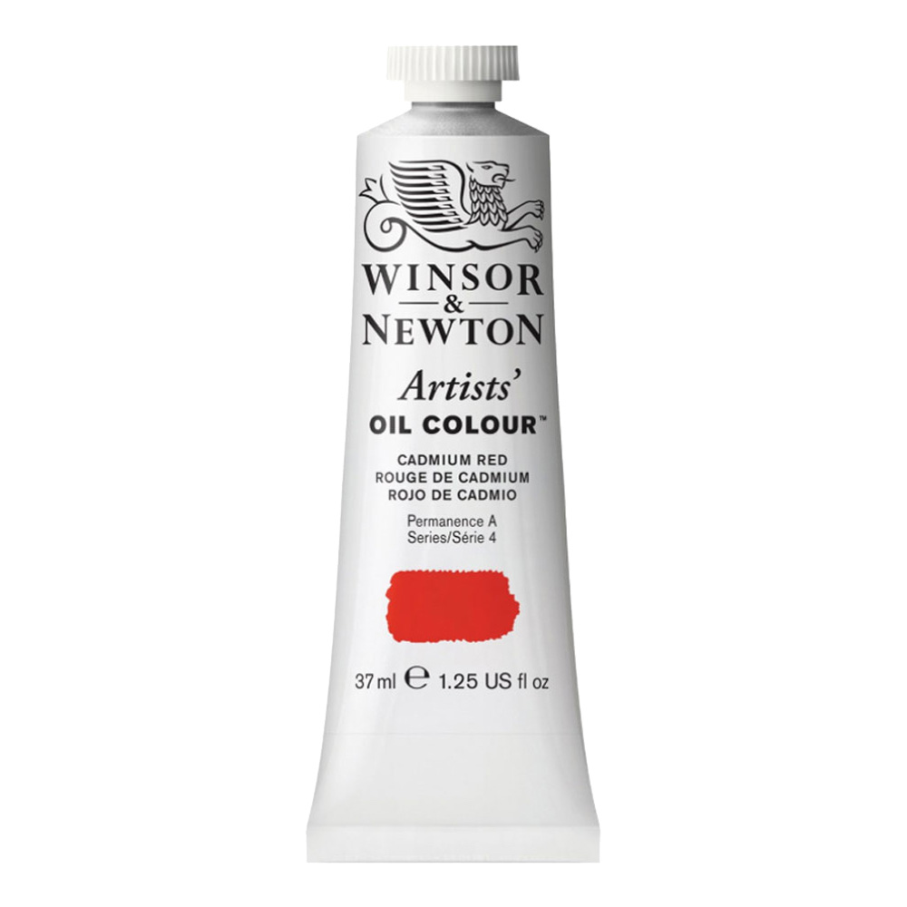 W&N Artist Oil 37Ml Cadmium Red
