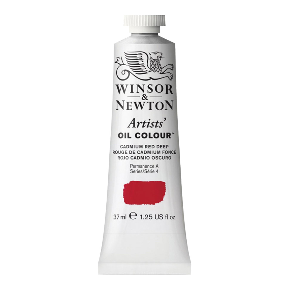 W&N Artist Oil 37Ml Cadmium Red Deep