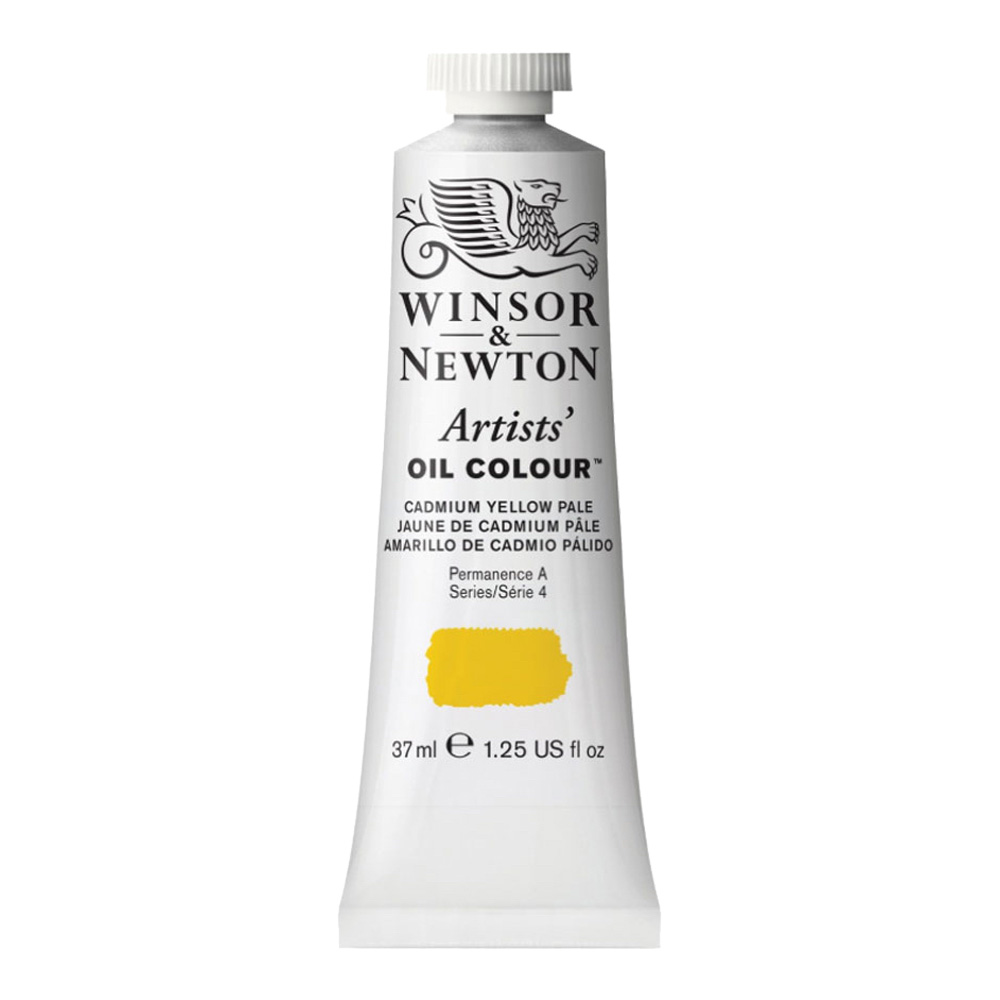 W&N Artist Oil 37Ml Cadmium Yellow Pale