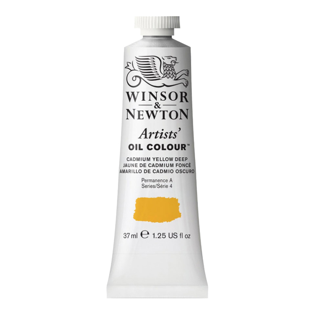 W&N Artist Oil 37Ml Cadmium Yellow Deep