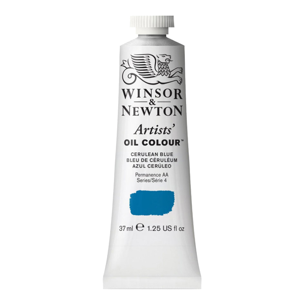 W&N Artist Oil 37Ml Cerulean Blue