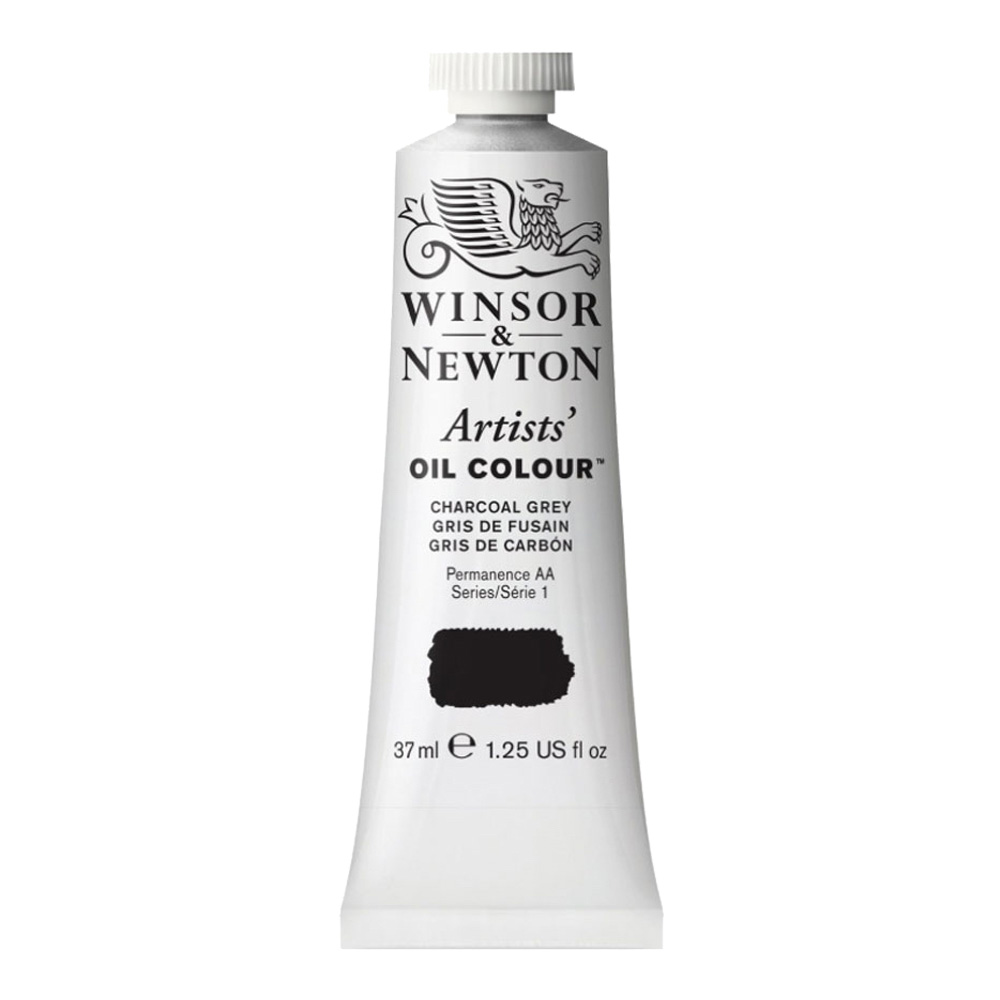 W&N Artist Oil 37Ml Charcoal Grey