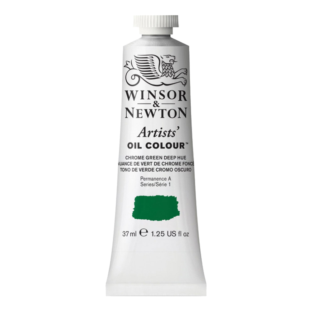 W&N Artist Oil 37Ml Chrome Green Deep