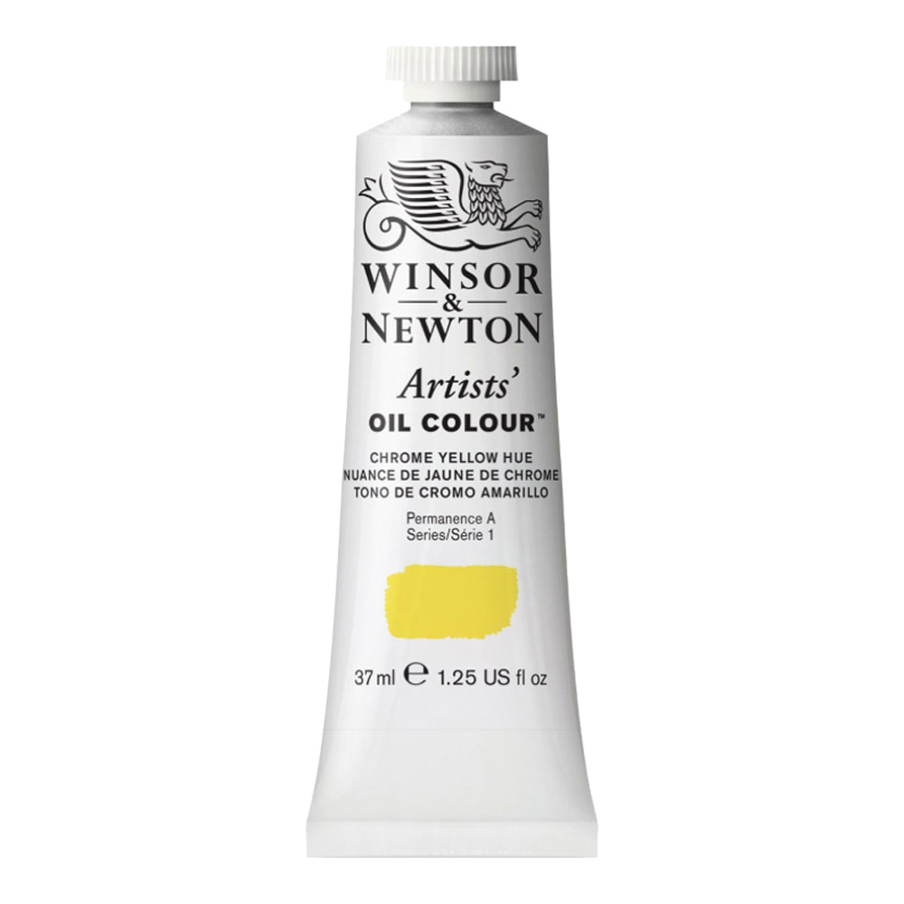 W&N Artist Oil 37Ml Chrome Yellow Hue