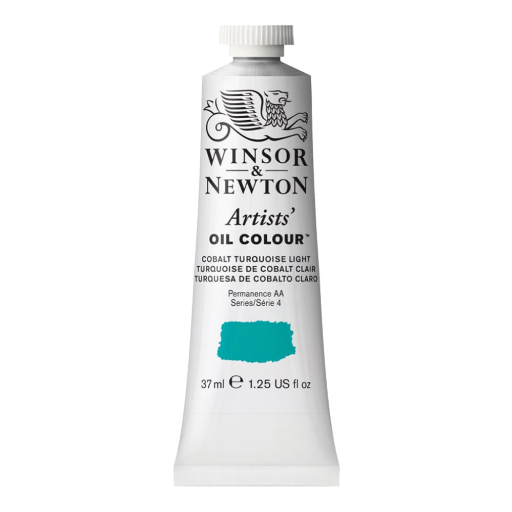 W&N Artist Oil 37Ml Cobalt Turquoise Light