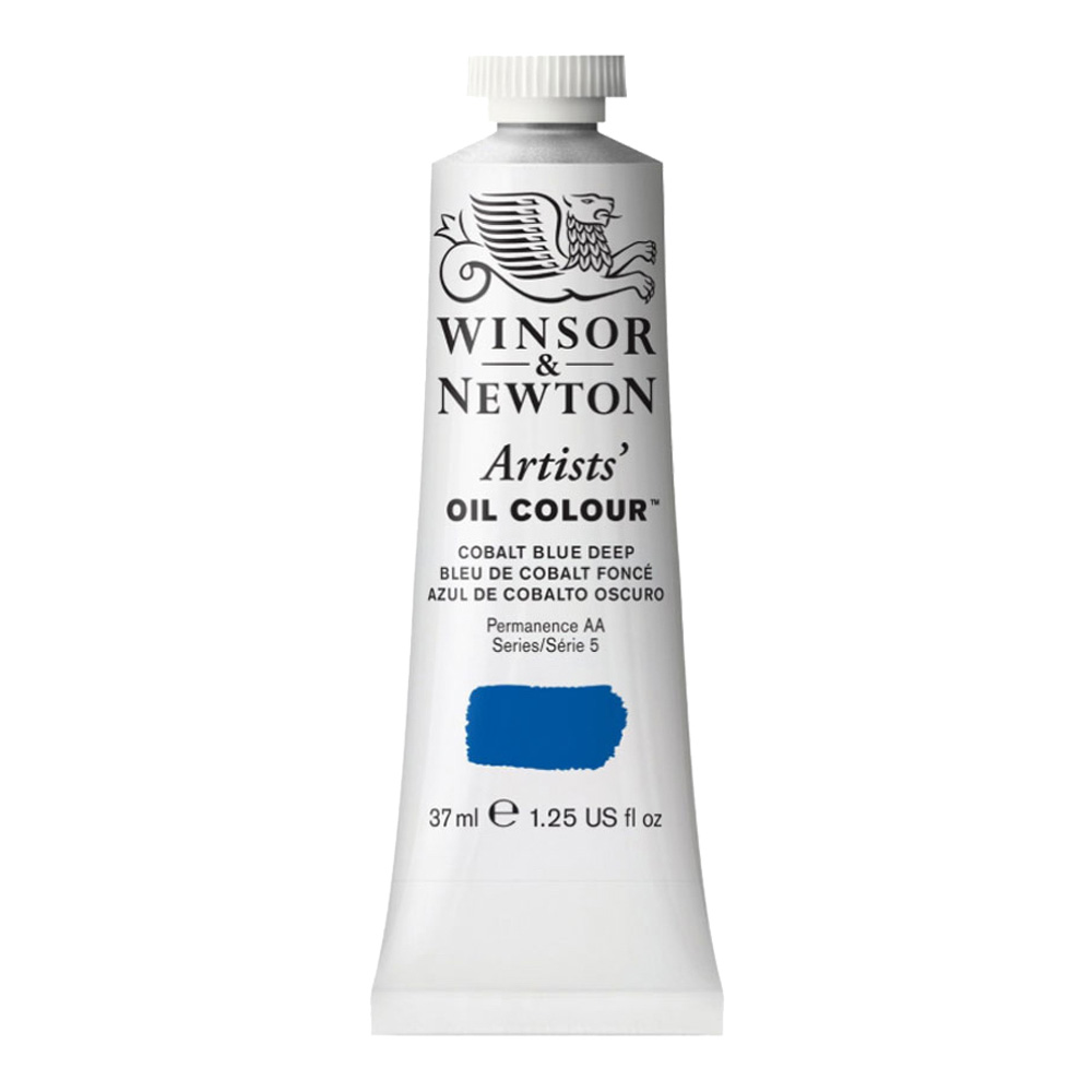 W&N Artist Oil 37Ml Cobalt Blue Deep