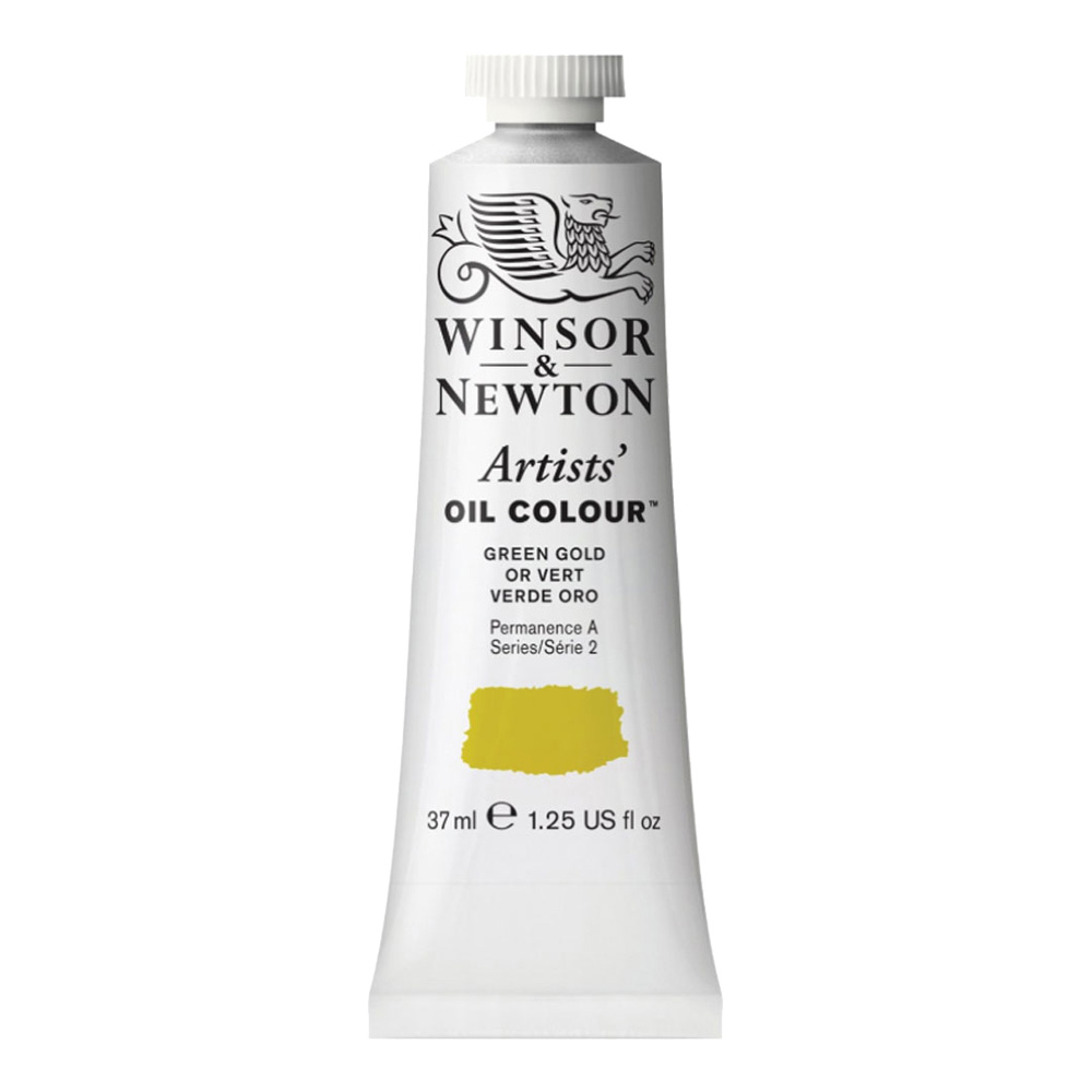 W&N Artist Oil 37Ml Green Gold