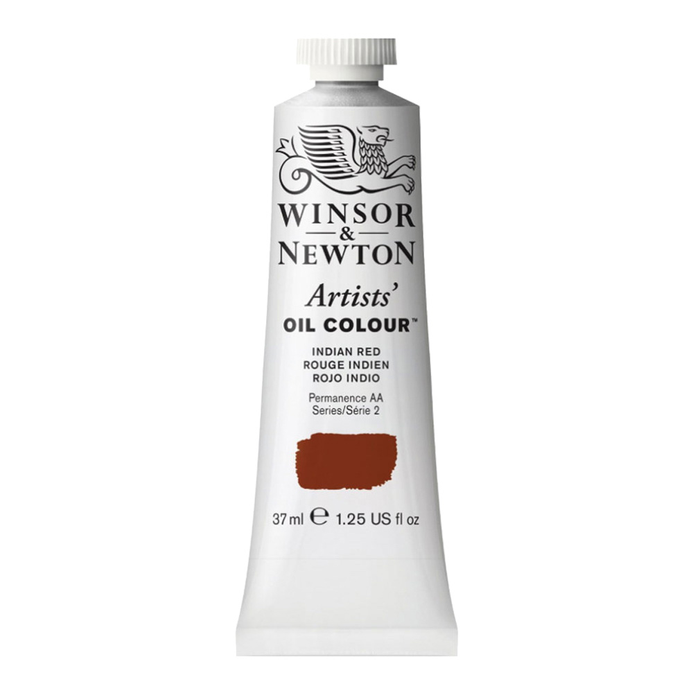 W&N Artist Oil 37Ml Indian Red