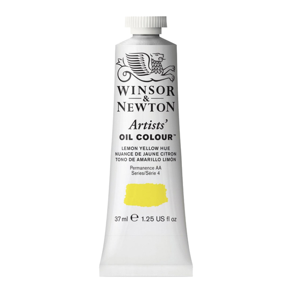 W&N Artist Oil 37Ml Lemon Yellow Hue