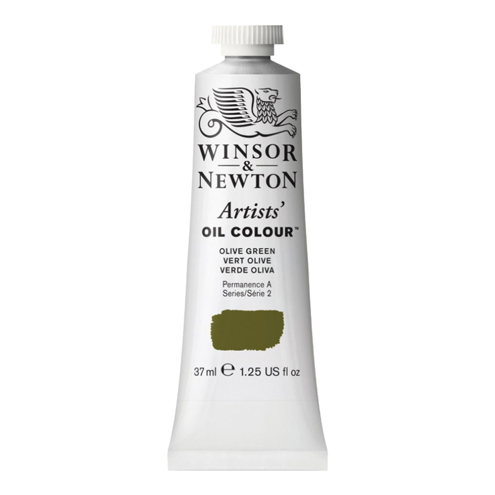 W&N Artist Oil 37Ml Olive Green