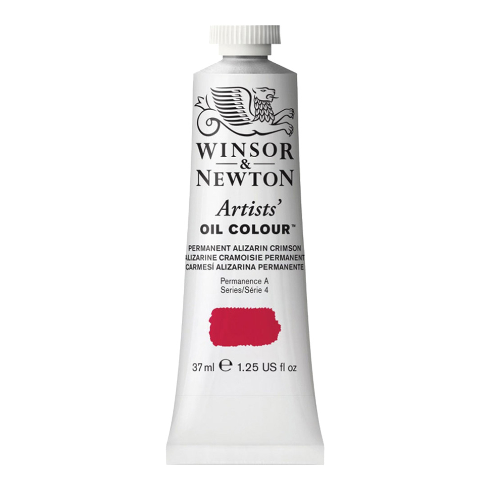 W&N Artist Oil 37Ml Perm Alizarin Crimson Hue