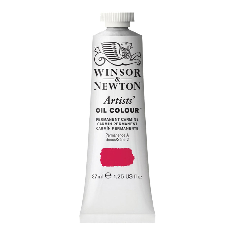 W&N Artist Oil 37Ml Permanent Carmine