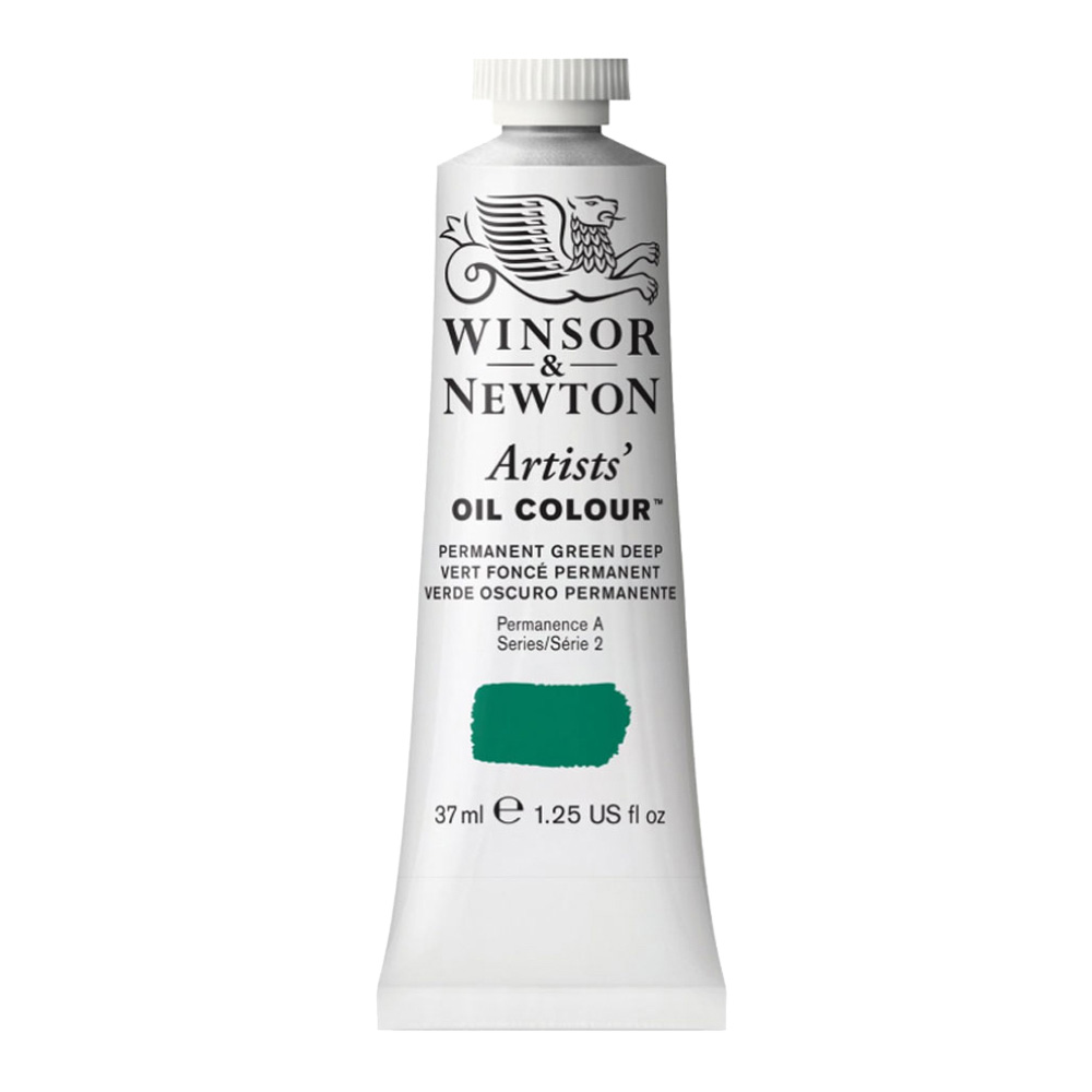 W&N Artist Oil 37Ml Permanent Green Deep