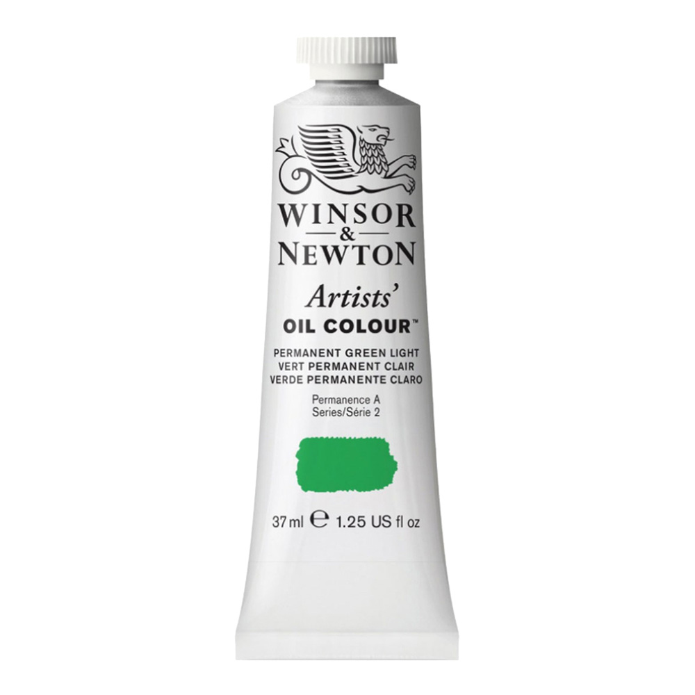 W&N Artist Oil 37Ml Permanent Green Light