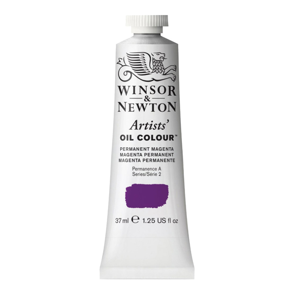 W&N Artist Oil 37Ml Permanent Magenta