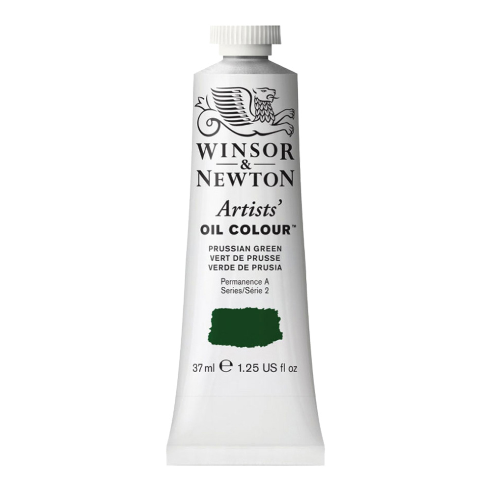 W&N Artist Oil 37Ml Prussian Green