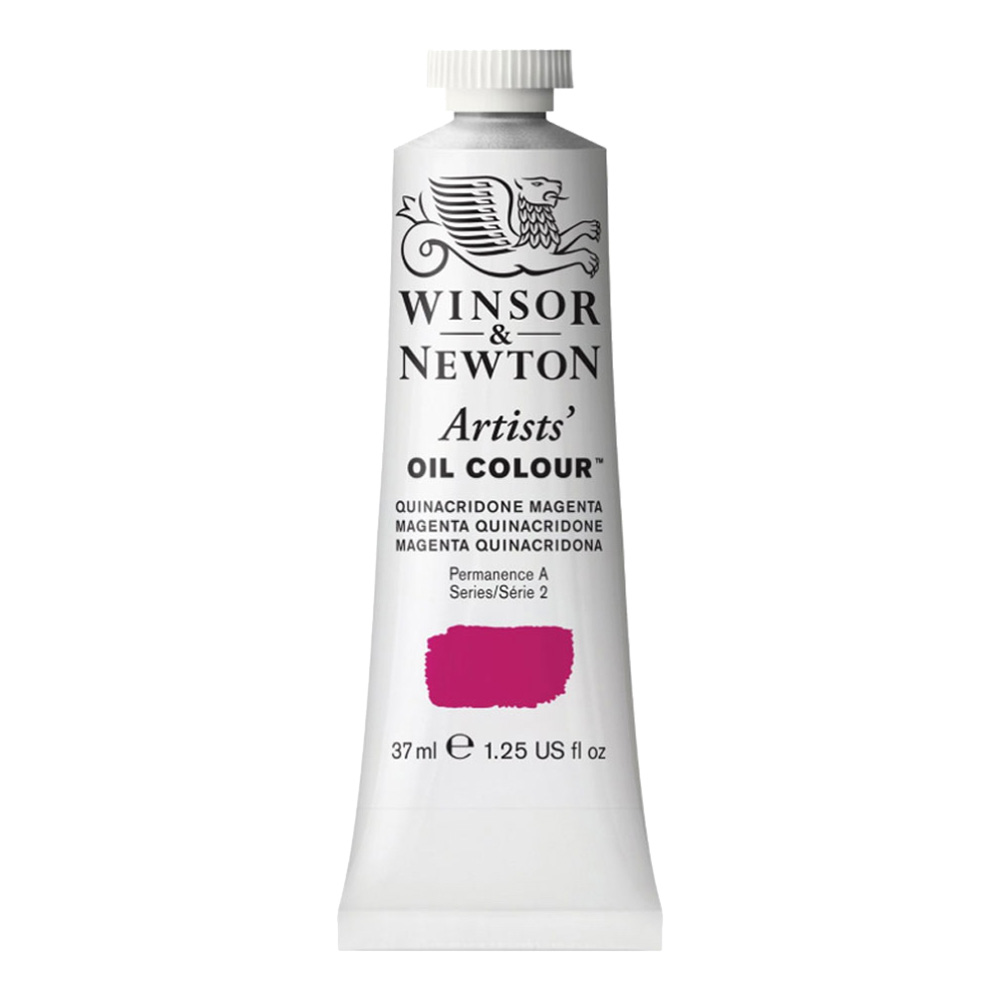W&N Artist Oil 37Ml Quinacridone Magenta