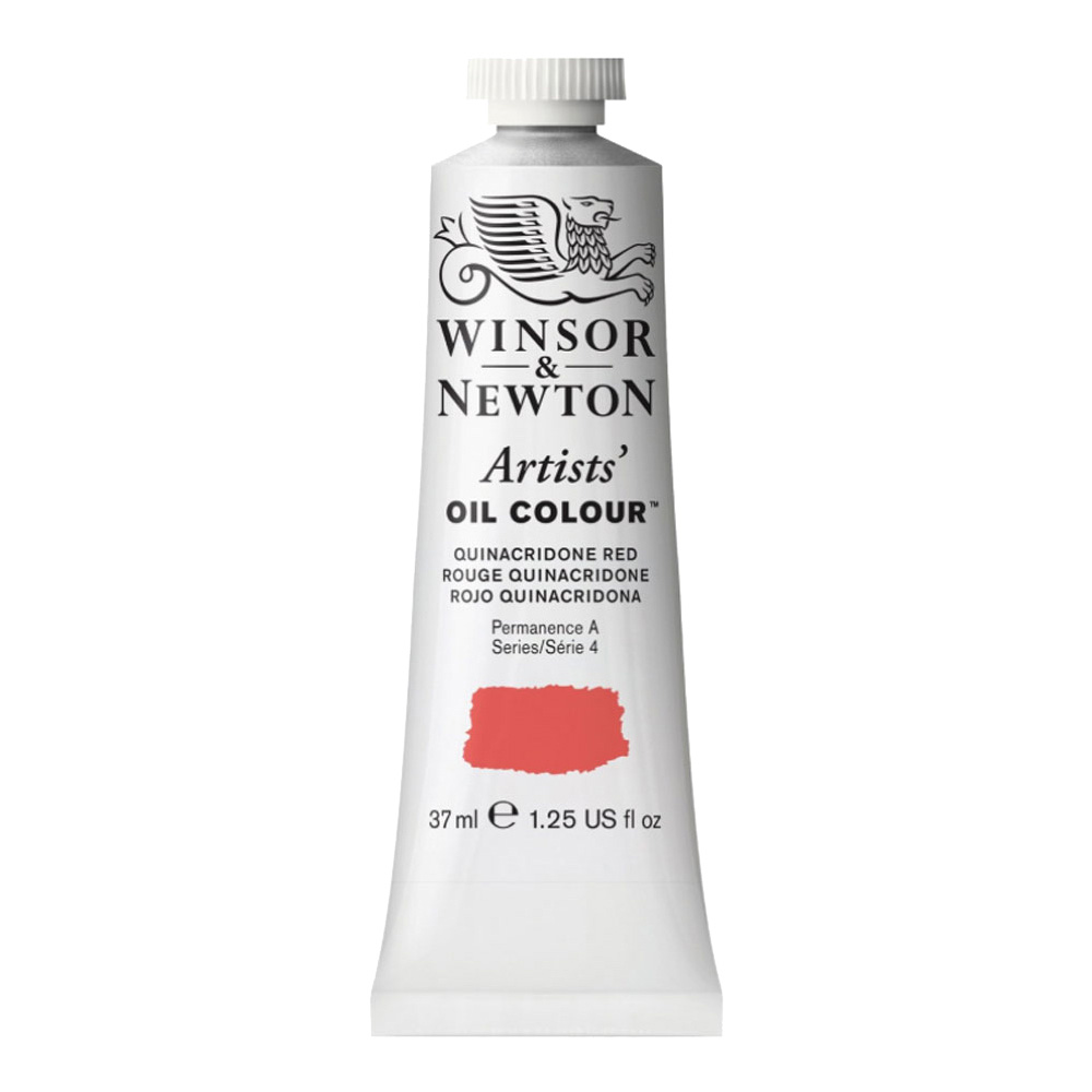 W&N Artist Oil 37Ml Quinacridone Red