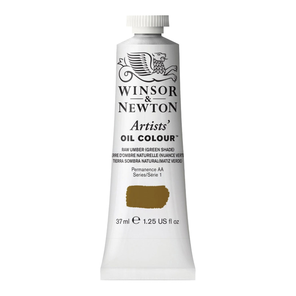 W&N Artist Oil 37Ml Raw Umber Green Shade