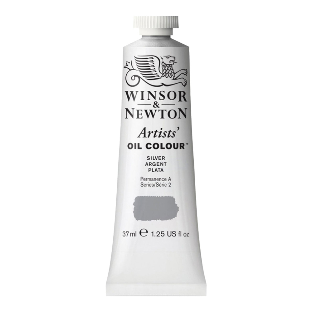 W&N Artist Oil 37Ml Silver