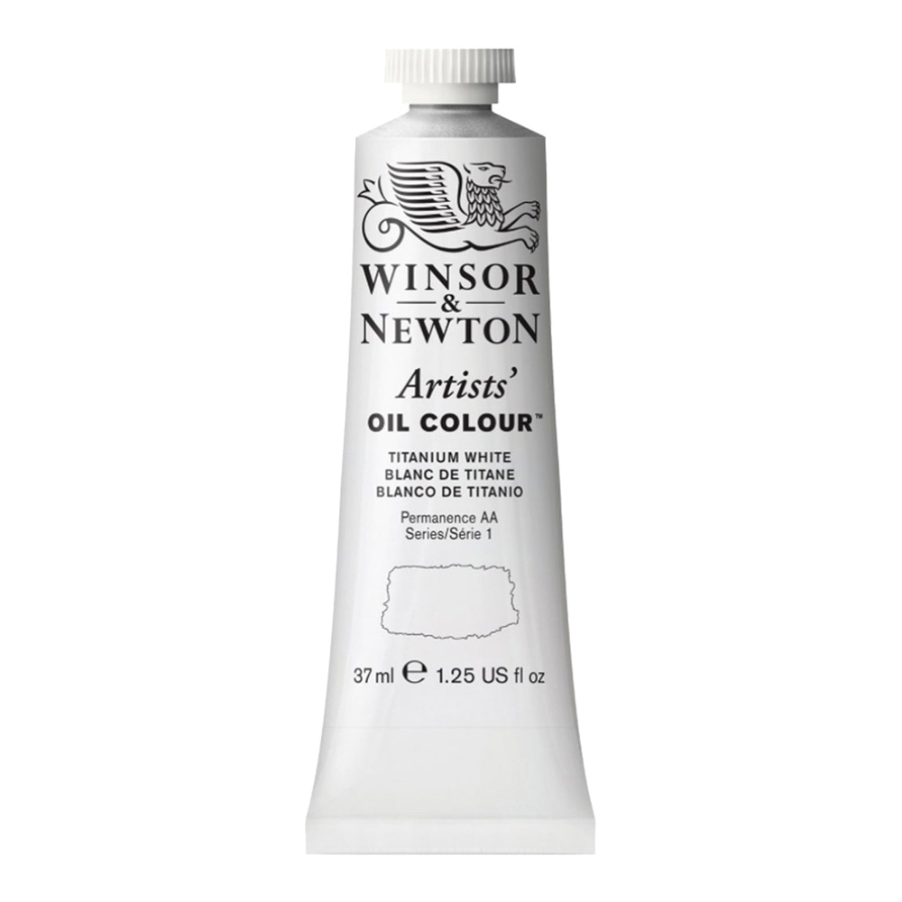 W&N Artist Oil 37Ml Titanium White